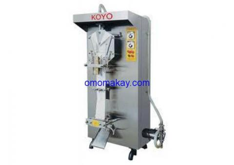Koyo water machine.