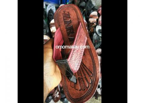 African Slippers and Sandals