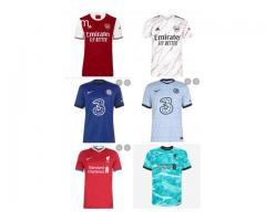 European Club Teams Jerseys