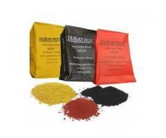 Interlock pigments (colouring)
