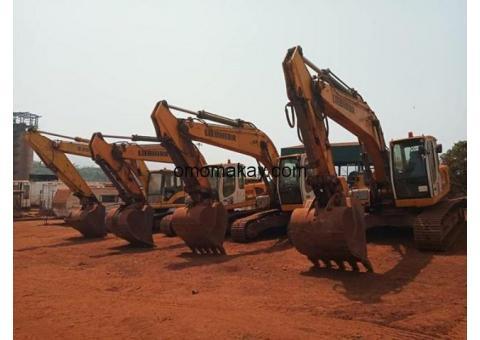 Excavator for rent