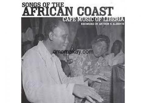Liberian Music CD - Songs of the African Coast