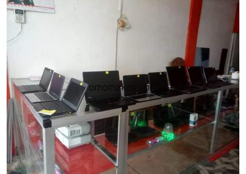 $135usd and above get u a clean Laptops such as Dell, Toshiba's, HP. Accer, thinkpad lenovo