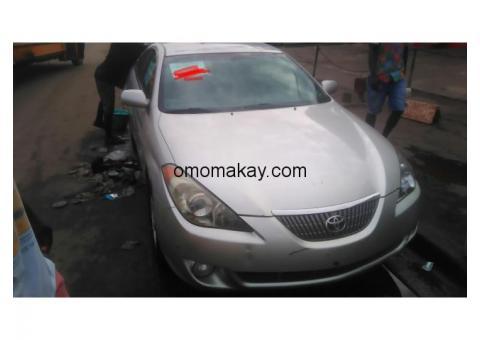 Toyota solara 2006 foreign used newly imported