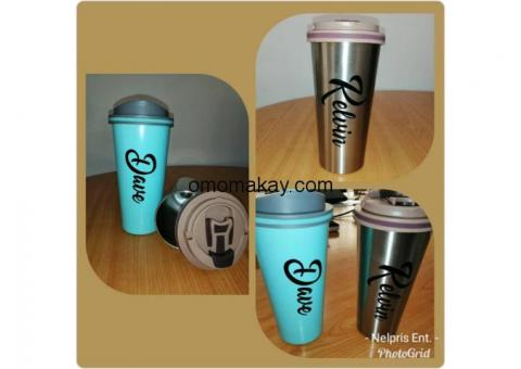Engraved and Customized Durable Water Bottles