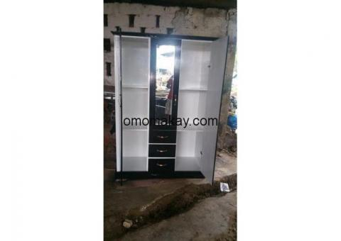 Wardrobe and bed for sale