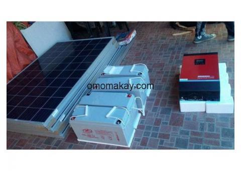 Solar energy  Installation