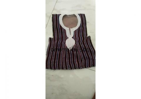 African dress & shirt
