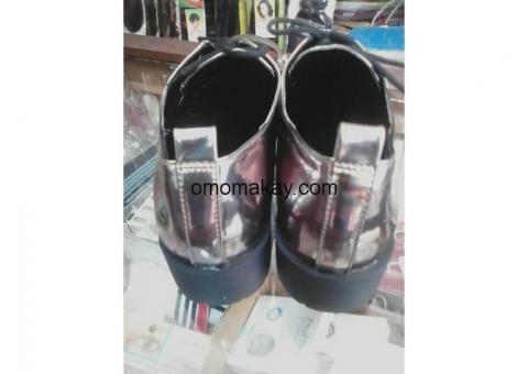 classic men and women shoe