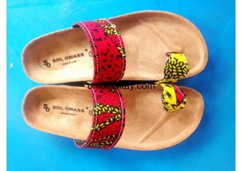 Classic African slipper