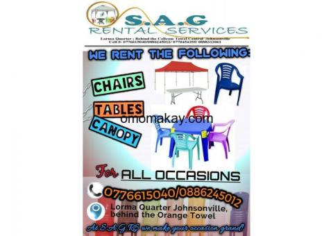 S A G Rental Services