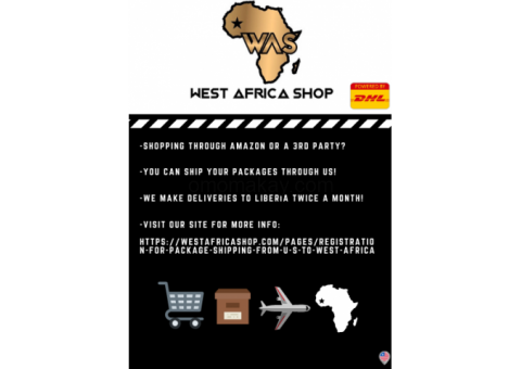West Africa Shop (Deliveries to LIBERIA every 15 days )