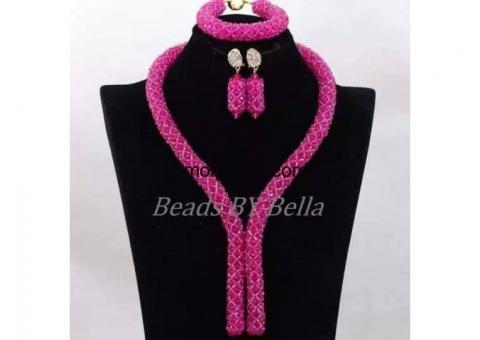 African beads for wedding