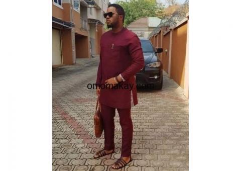 Great king African fashion suits for men and women.
