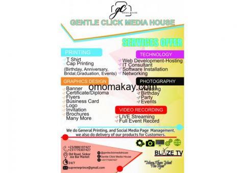 Gentle Click Media House Service