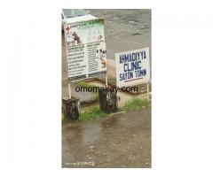 Ahmadiyya Muslim Clinic Sayon Town Opposite Toyota Garage Duala Road Monrovia Liberia
